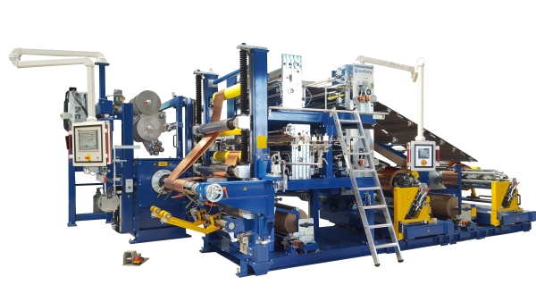 Foil winding machine Type FWM 600 – FWM 1600